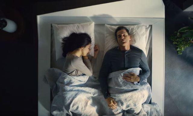 Ford trabaja en una cama que impida que tu compañero pueda invadir tu lado de la cama
