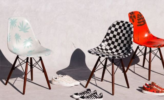 La línea de muebles de Vans en colaboración con Modernica ya esta aquí