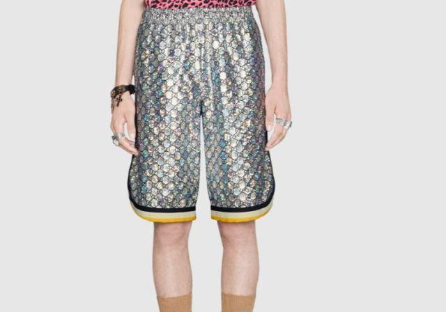 Los pantalones cortos de Gucci que son todo un lujo