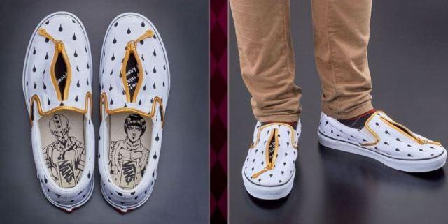 Vans lanza una línea de zapatillas en colaboración con 'JoJo's Bizarre Adventure'