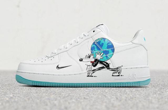 Llega la colección sostenible de Nike con ilustraciones de Steve Harrington