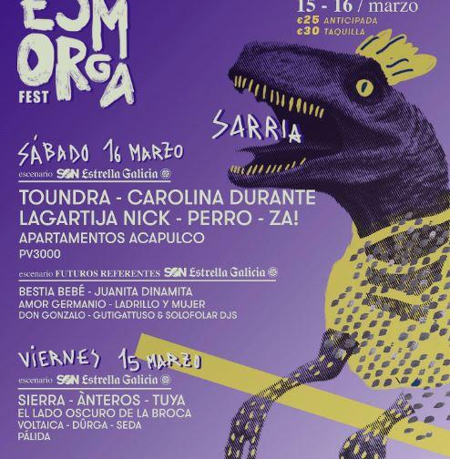 festivales de música en marzo