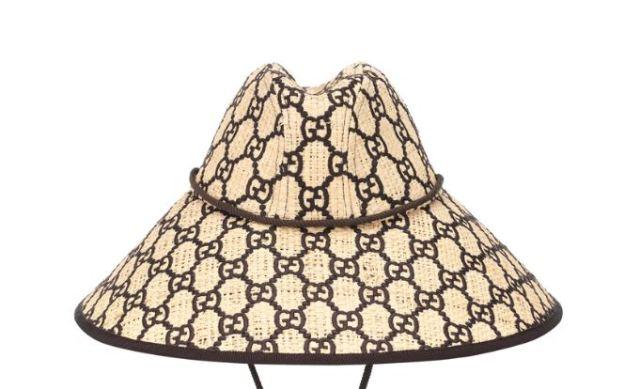 El sombrero de Gucci GG de ala ancha, una opción muy apropiada para llevar este verano