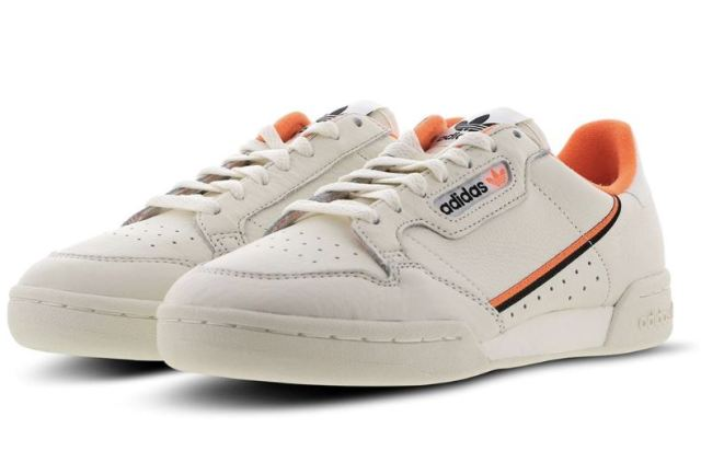 Las últimas Continental 80 de adidas Originals llegan en un limpio colorway beige y naranja