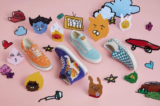 Kakao Friends x Vans, la colaboración que presenta una colección con gráficos artísticos