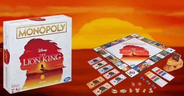 El Monopoly del Rey León existe y viene con un mini Pride Rock