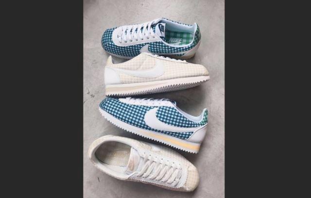 Llegan las Nike Cortez Gingham o de la pradera