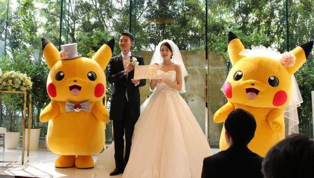 Las bodas Pokémon han llegado oficialmente a Japón