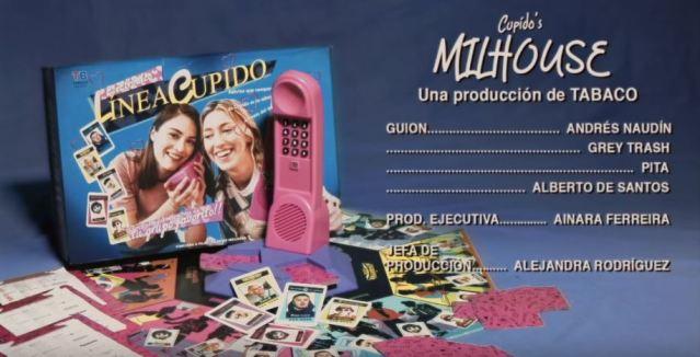 Cupido lanza el videoclip de Milhouse con juego de mesa incluido