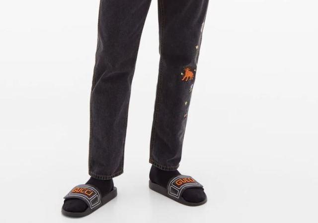 Nuevas chanclas de Gucci para tus pies
