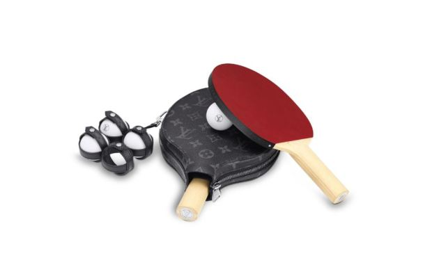 El pack de juego de ping pong de Louis Vuitton está disponible por 1500 euros