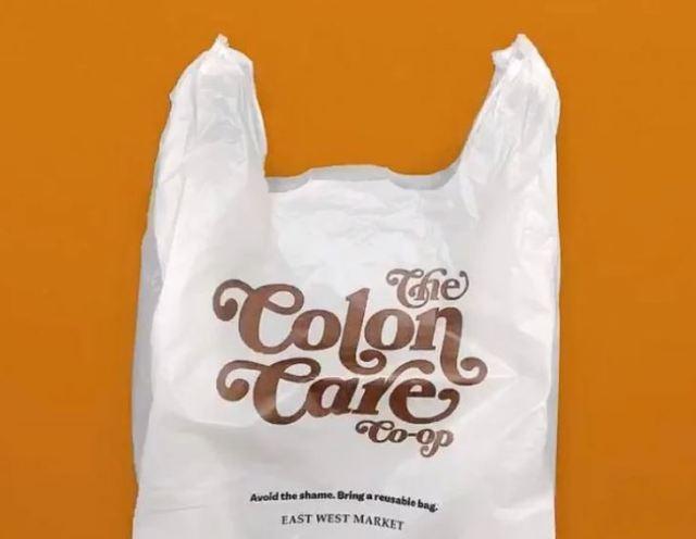 bolsas de plástico vergonzosas