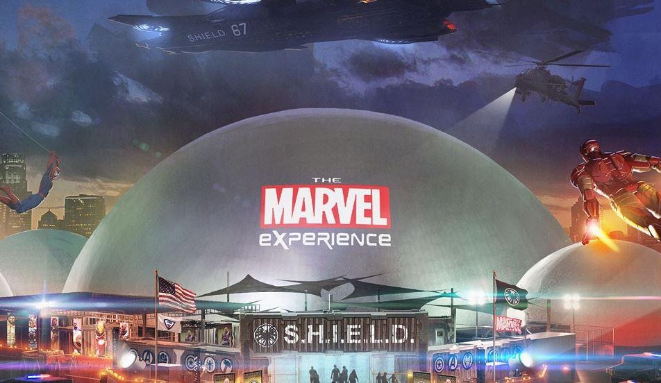 parque temático de Marvel 1