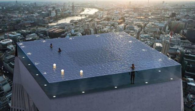La primera piscina infinita de 360 grados se abrirá en Londres