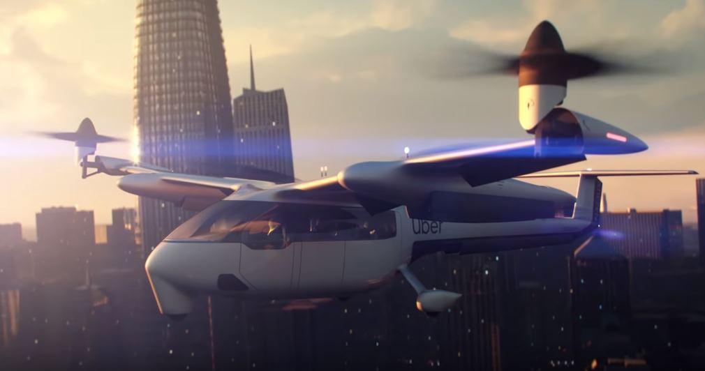 taxis voladores de Uber
