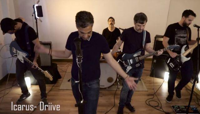 La banda madrileña de indie rock Driive nos presenta el videoclip de Icarus