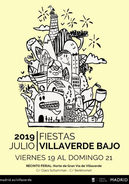 fiestas de Villaverde Bajo