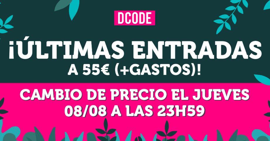 entradas para dcode 2019