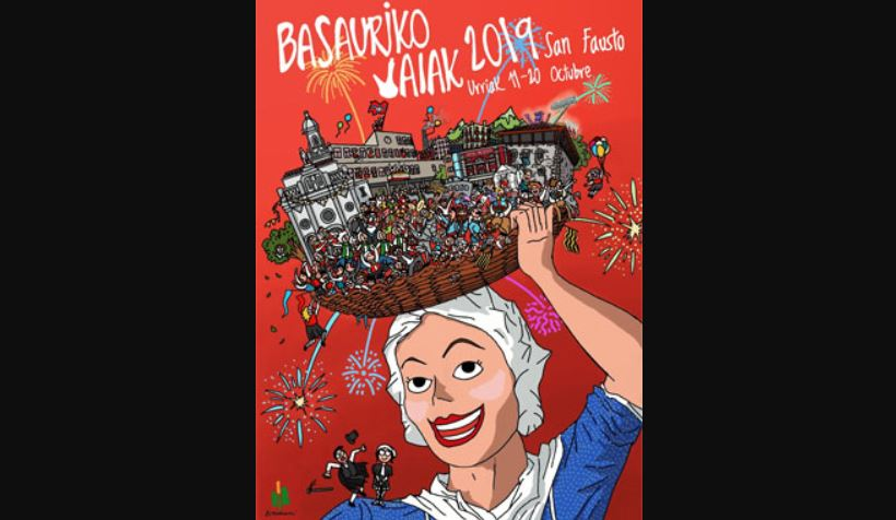 fiestas de basauri 2019