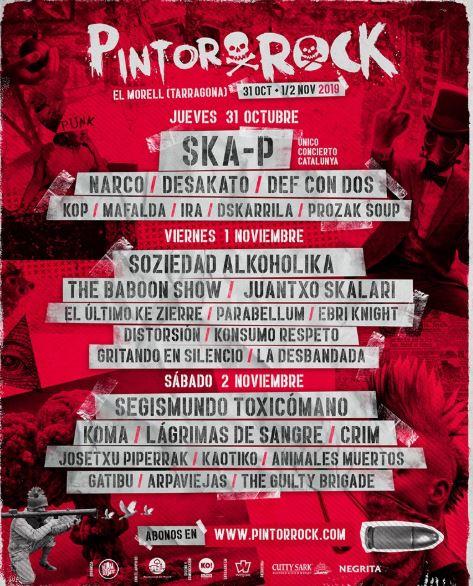 Pintor Rock 2019