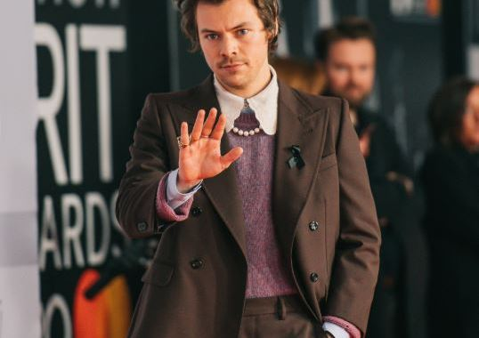 harry styles brits 2020