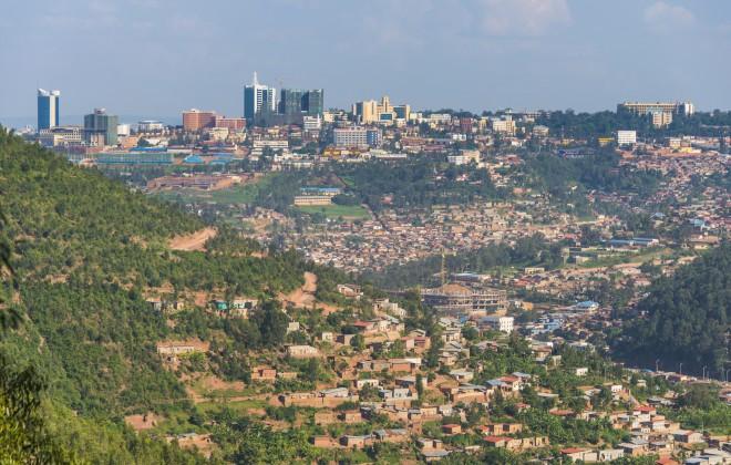 KIGALI RWANDA CITYSCAPE 1