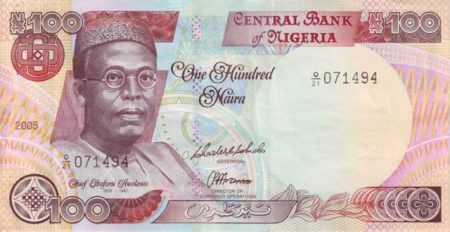 NIGERIAN CURRENCY one-hundred-naira