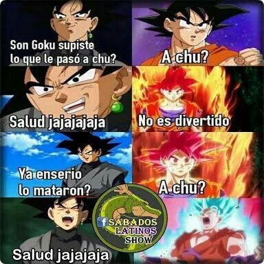 Memes De Dragon Ball Super A Chu Wattpad