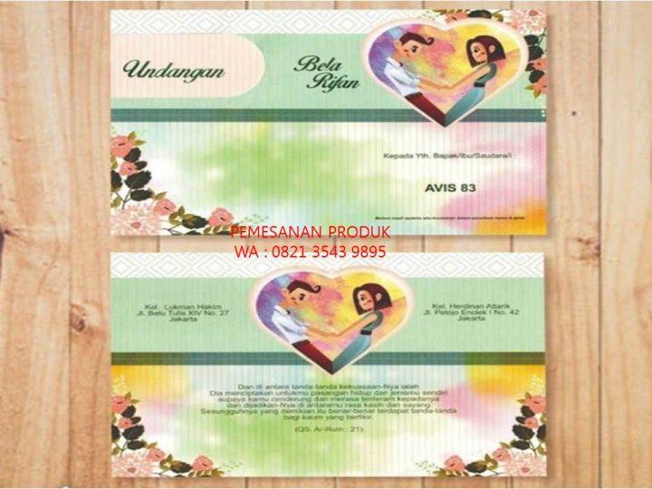 Reseller Contoh Undangan Pernikahan 0821 3543 9895 Wattpad