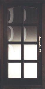 EMA Endor fa bejárati ajtó
