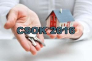 CSOK támogatás 2016