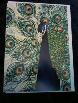 peacock wallet