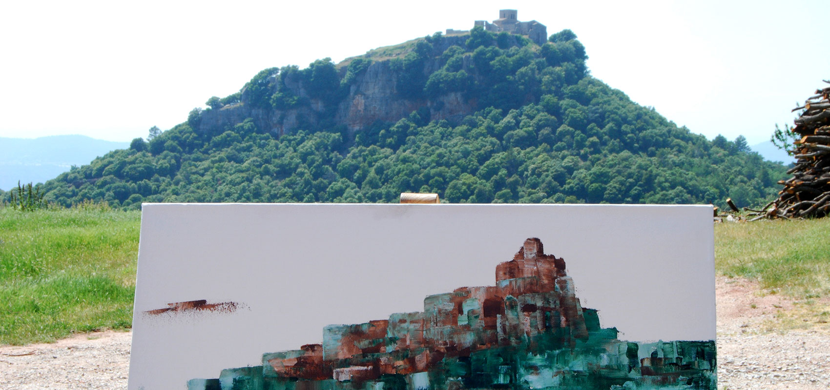 Sortida a pintar paisatge al natural