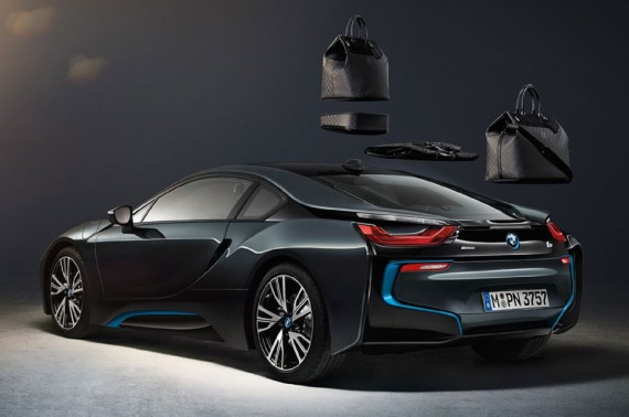 louis vuitton luggage set for 2014 bmw i8 03 570x378 Louis Vuitton Luggage Set for 2014 BMW i8