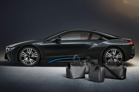 louis vuitton luggage set for 2014 bmw i8 02 570x378 Louis Vuitton Luggage Set for 2014 BMW i8
