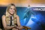 Kristen Bell discusses whales and her film the Big Miracle