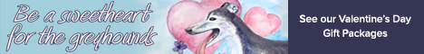Be a Sweetheart for the Greyhounds