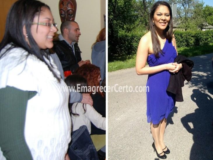 antes e depois emagrecer certo