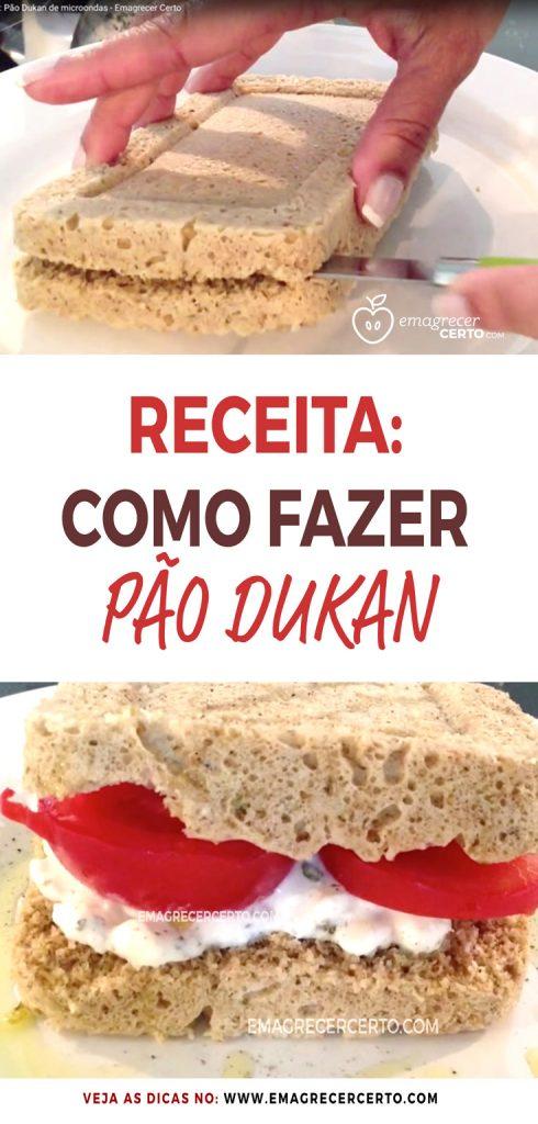 Receita Como Fazer Pão Dukan Blog Emagrecercerto