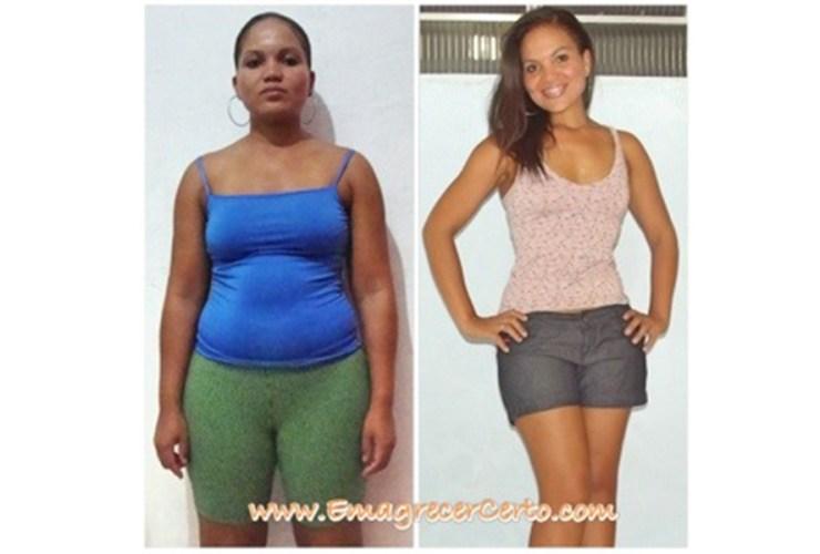Gessica eliminou 16kg história no blog emagrecer certo