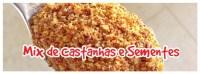 mix de castanhas e sementes