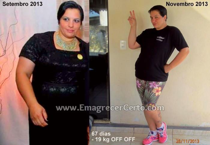 Superação da Alessandra - antes e depois do emagrecimento