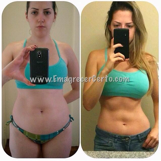 antes e depois da musculacao