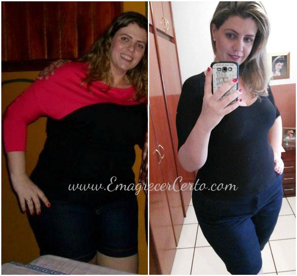 antes e depois emagrecimento