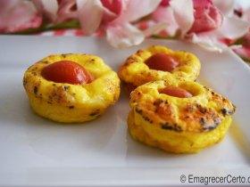 muffin de omelete