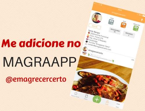 Me adicione no MagraApp @emagrecercerto