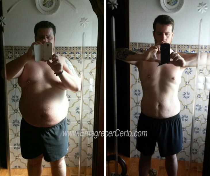 antes e depois ricardo
