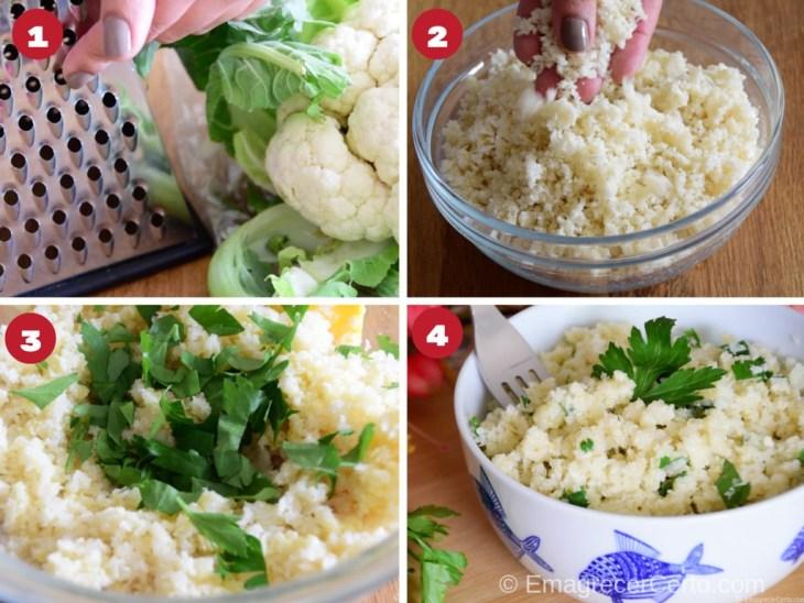 arroz de couve-flor