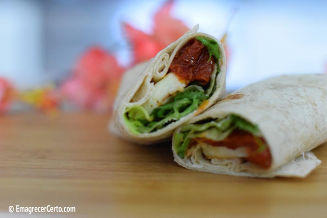 wrap vegetariano
