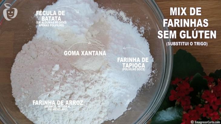 mix de farinha sem gluten